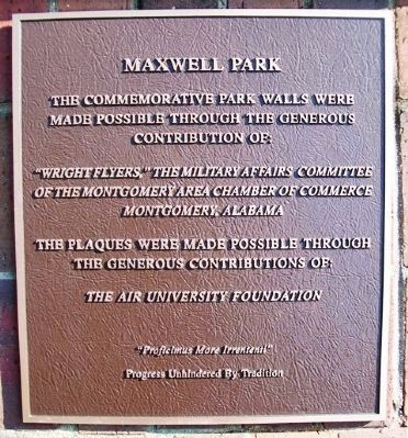 Maxwell Park Marker image. Click for full size.