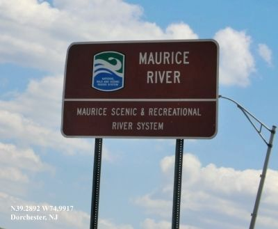 A River to Enjoy and Protect Marker image. Click for full size.
