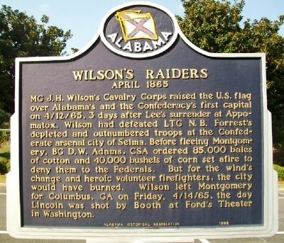 Wilson's Raid (Side B) image. Click for full size.