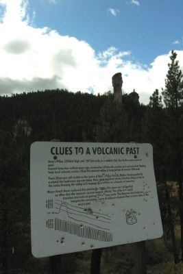 Clues to a Volcanic Past Marker image, Touch for more information