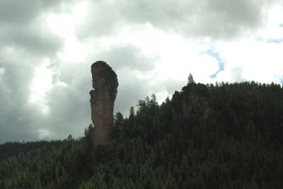 Stein's Pillar image. Click for full size.