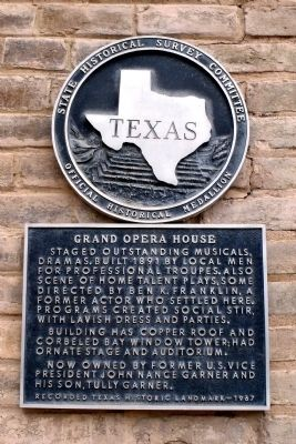 Grand Opera House Marker image. Click for full size.