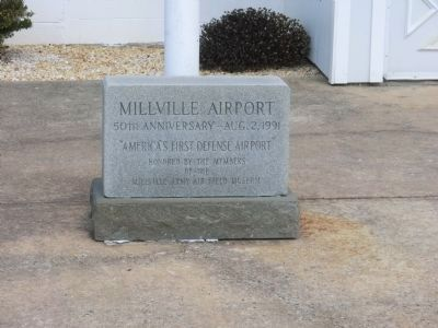 Millville Army Air Field 50th Anniversity Dedication image. Click for full size.