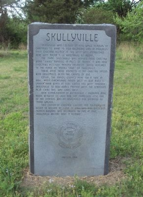 Scullyville Marker image. Click for full size.
