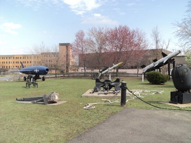 Missiles at the New Jersey Naval Museum image. Click for full size.