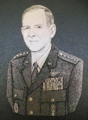 Image of General Larry D. Welch on Marker image. Click for full size.