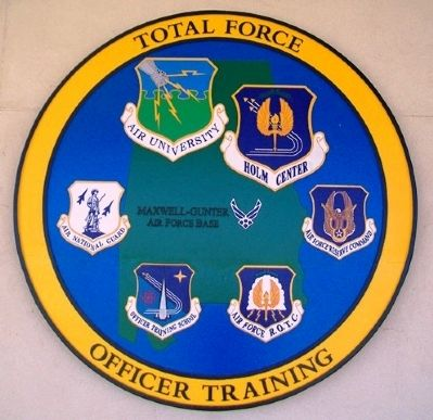 Total Force Officer Training Marker image. Click for full size.