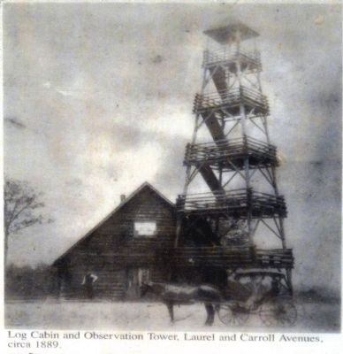 The Cabin and Observation Tower image. Click for full size.