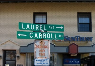 Laurel and Carroll Avenues image. Click for full size.