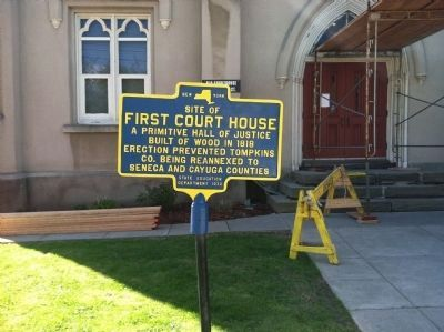 First Court House Marker image. Click for full size.