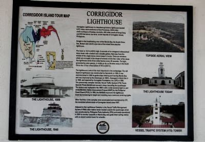 Corregidor Lighthouse Marker image. Click for full size.