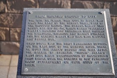 From Hunting Ground to City Marker image. Click for full size.