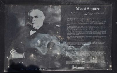 Mead Square Marker image. Click for full size.
