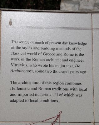 A Collection of Architectural Artifacts Marker image. Click for full size.