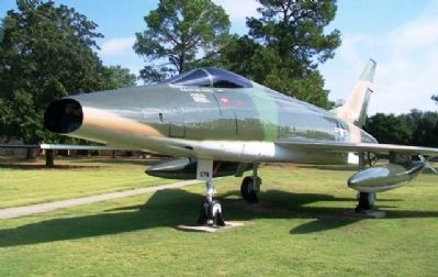 "North American F-100D ""Super Sabre"" image. Click for full size."