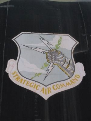 Stragegic Air Command Logo image. Click for full size.