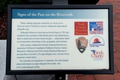 Signs of the Past on the Riverwalk image. Click for full size.