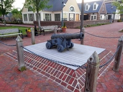 Artillery at Yorktown image. Click for full size.