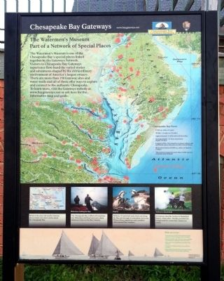 The Watermen's Museum Marker image. Click for full size.