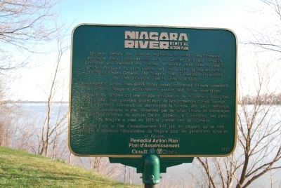 Niagara River Remedial Action Plan Marker image. Click for full size.