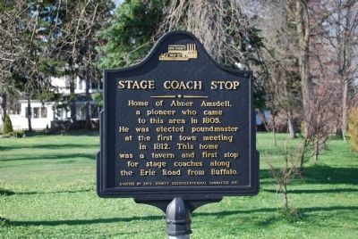 Stage Coach Stop Marker image. Click for full size.