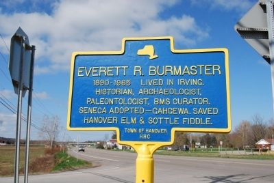 Everett R. Burmaster Marker image. Click for full size.