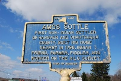 Amos Sottle Marker image. Click for full size.