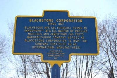Blackstone Corporation Marker image. Click for full size.