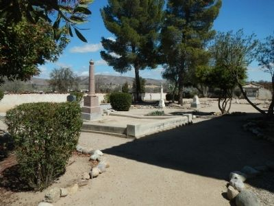 San Miguel Mission Cemetery image. Click for full size.