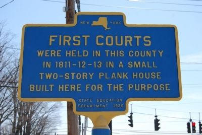 First Courts Marker image. Click for full size.