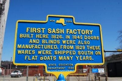 First Sash Factory Marker image. Click for full size.