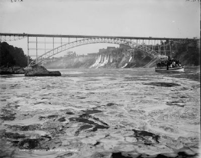 Upper Steel Arch Bridge, ca. 1900 image. Click for full size.