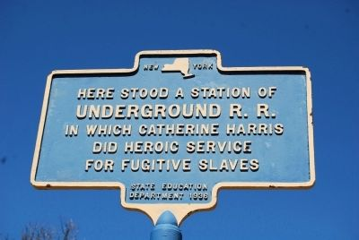 Here Stood a Station Marker image. Click for full size.