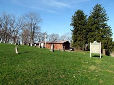 Chain Lake Missionary Baptist Church and Cemetery image. Click for full size.