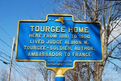 Tourgee Home Marker image. Click for full size.