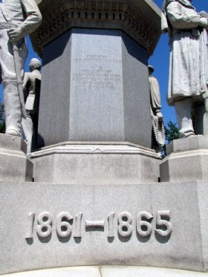 Dowagiac Civil War Monument Marker image. Click for full size.