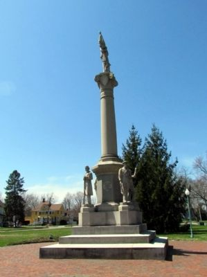 East Side of Monument image. Click for full size.