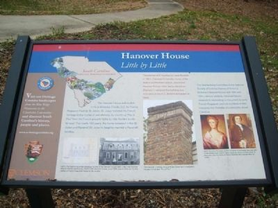 Hanover House Marker image. Click for full size.
