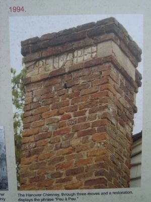 Hanover House Chimney image. Click for full size.