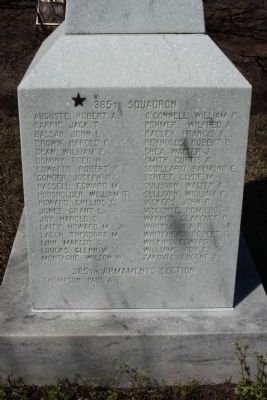 364th FG Marker east face image. Click for full size.