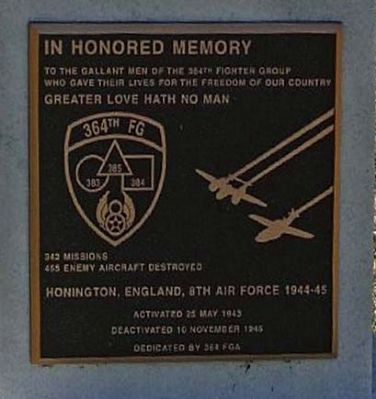 364th FG Marker image. Click for full size.