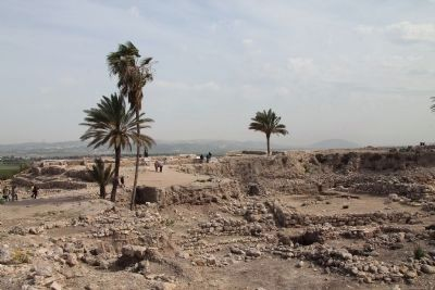 From Megiddo to Armageddon image. Click for full size.