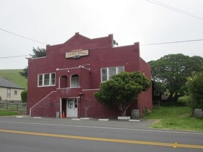 Tomales Town Hall image. Click for full size.
