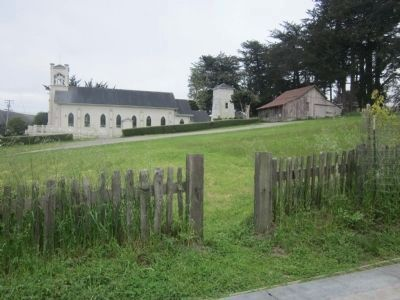 The Fence Line Separating the Two Properties image. Click for full size.