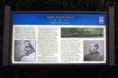 Goldsboro Marker image. Click for full size.