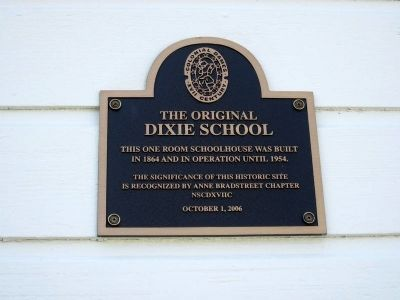 A Second Plaque Mounted on the Front of the Building image. Click for full size.