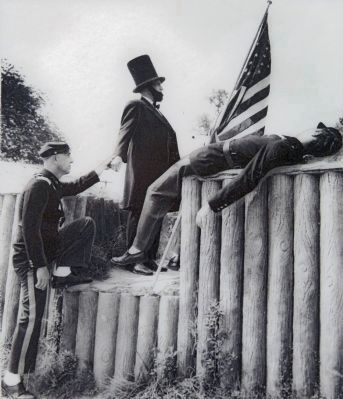 1964 Re-enactment image. Click for full size.