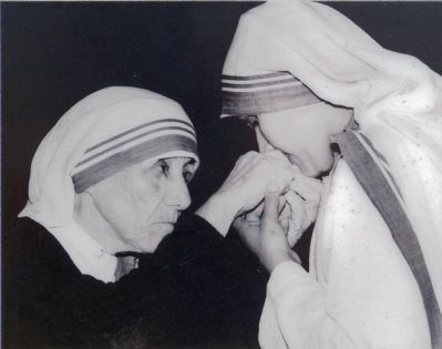 Mother Teresa image. Click for full size.