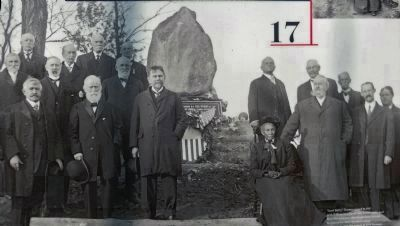 1911 Dedication of the Lincoln Boulder image. Click for full size.