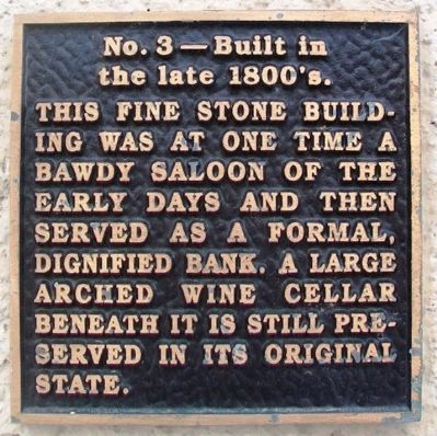 Commercial National Bank Block Marker image. Click for full size.